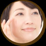 稗粒腫(目の周りや顔にできる白いポツポツ)